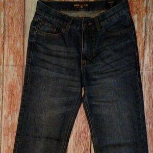 Ring of Fire Macy's boys size 14 dark blue jeans